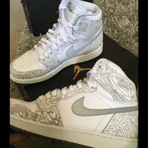 Air Jordan 1 RE HI OG LASER (Brand New)
