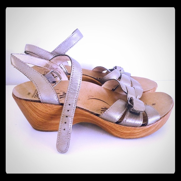 96 Off Abeo Shoes Abeo Wedge Clog Sandals Bio System 7