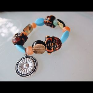 Jewelry - 💛funky handcrafted buddah daisychain bracelet✨