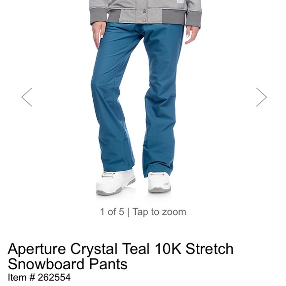 dfe1b8b6cfe Aperture Teal Snowpants