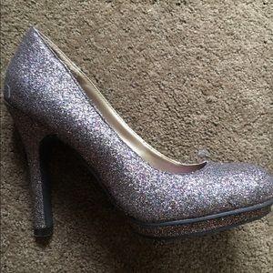 Purple glitter Steve Madden heels