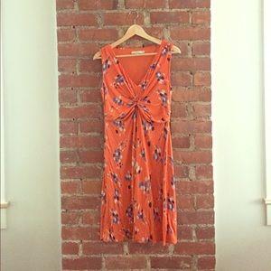 Orange Boden dress 10P