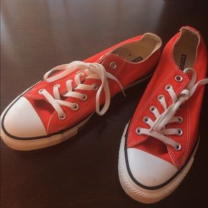 Bright orange Converse - ON HOLD