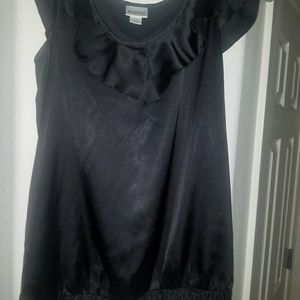 Maternity black top
