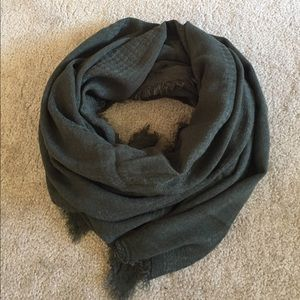 H&M Forest Green Scarf