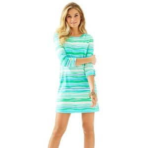 Lilly Pulitzer Linden Dress Sea Stripe size XS