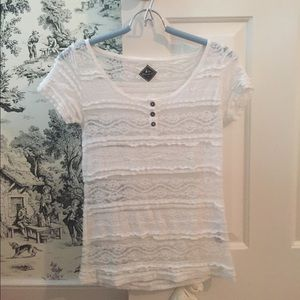 515a514f3ece8 Blanc du Nil Tops - Cute white Lacey top
