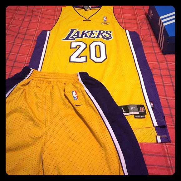 4facbfca49f Gary Payton lakers jersey and shorts set NBA. M_595fc532c6c7958b0b03231d