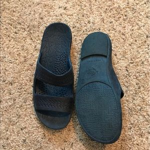 pali hawaii Shoes - Navy blue jandals