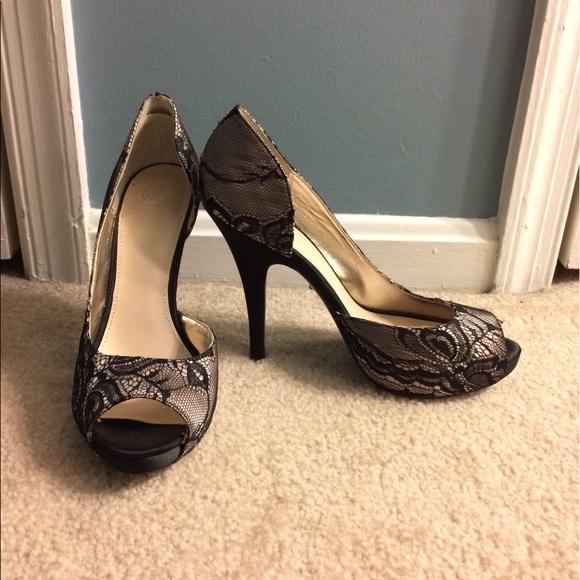 9cf1c39716c3 Disney Shoes - Disney Glass Slipper Collection Open Toe Pumps