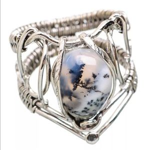 Jewelry - Dendritic Opal artisan crafted ring