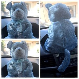 Light blue soft toy in perfect condition