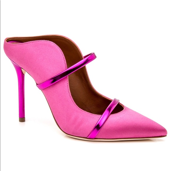 Maureen pumps - Pink & Purple Malone Souliers fFPBb4t