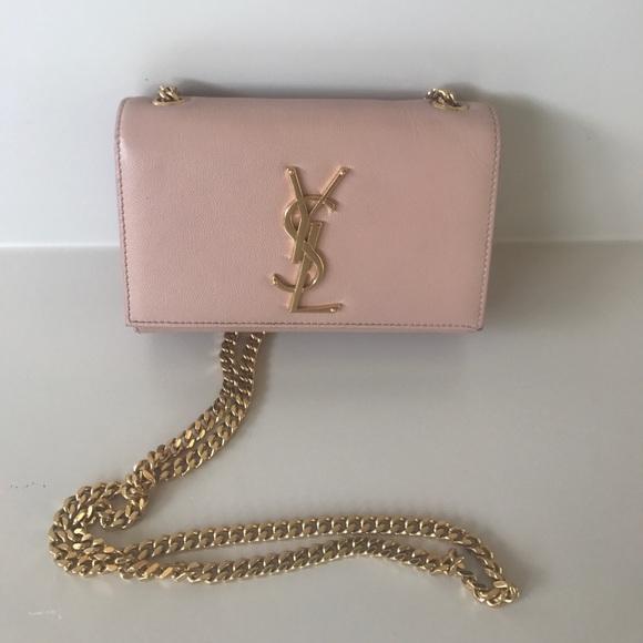 7ee608757bb5 YSL monogram leather crossbody bag- NUDE. M 595fce615c12f8c7de00f878. Other  Bags ...