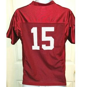 on sale 5b8bd 6d0c3 OKLAHOMA SOONERS #15 Football Jersey Youth 10/12