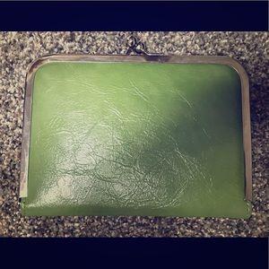 Handbags - Green clutch