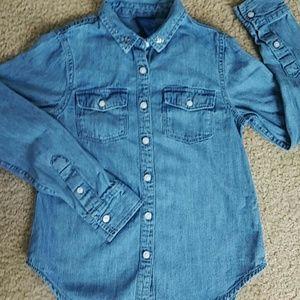 Other - Denim Shirt Size 7/8
