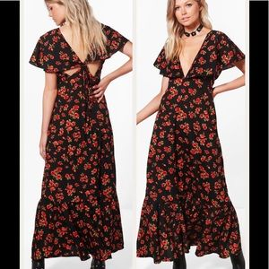NWT Petite Floral Maxi Dress