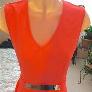 Hypnotik Dresses - Cute! Bright orange summer dress - small