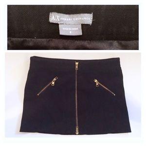 Super Mini Skirt by Armani Exchange, Size 2!