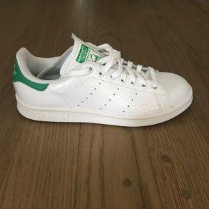 Adidas Stan Smith Snakeskin Shoes