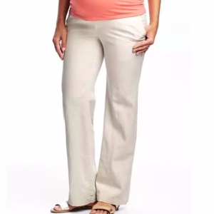 Old Navy Linen Maternity Pants
