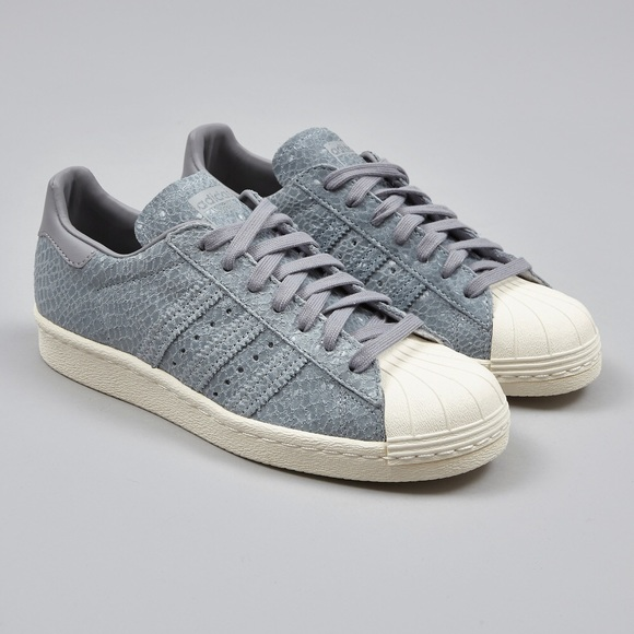 hot sale online fb1ee 13711 ADIDAS superstar 80s W - clear grey