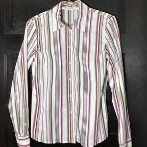 SALE❤️ Liz Claiborne button down cotton Blouse 6