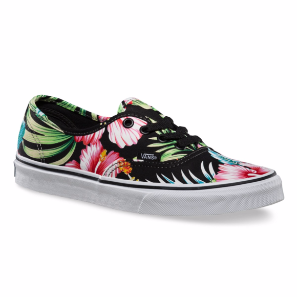9102ac51ca Women s Vans Authentic Hawaiian Floral Skate Shoe.  M 595fed5e6bfbd32cc8014c7d