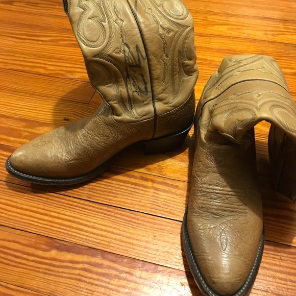 Nocona Boots Signed By Dierks