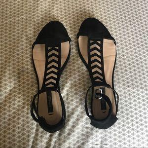 ZARA Black Sandal