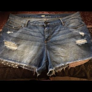 Old Navy distressed 🇺🇸Flag Jean Shorts