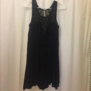 Free People black mini dress