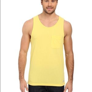 North Face M Crag Tank Goldfinch Yellow