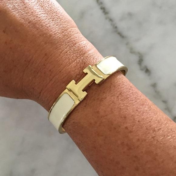 Jewelry   Dupe Hermes Clic H Enamel Bracelet   Poshmark 0d05e44b975