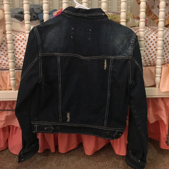 40% Off Rue21 Jackets U0026 Blazers - Womenu0026#39;s Rue 21 Ripped Denim Jacket From Deseraeu0026#39;s Closet On ...