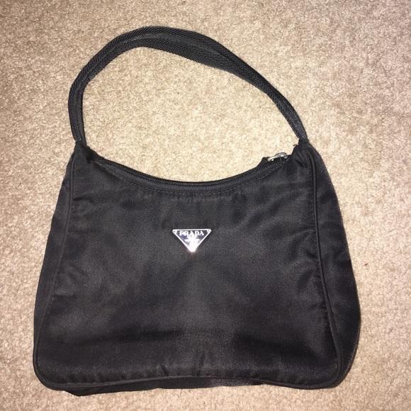 3fac9b87c627 Prada tessuto nylon black sport baguette bag. M 5960069113302a0bdf00b441