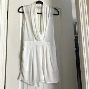 Lovers and friends white romper small