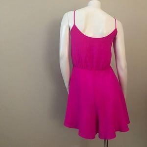 c53a9fe7139b Amanda Uprichard Other - Amanda Uprichard Circle Short Romper Hot Pink L