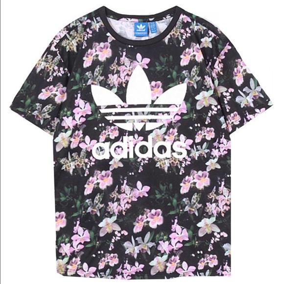 8471c7be84a Adidas Tops | Orchid Boyfriend Tee Xs | Poshmark