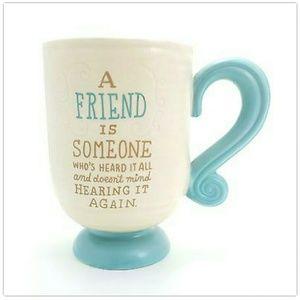 NWT Hallmark Coffee Mug [FRIEND]