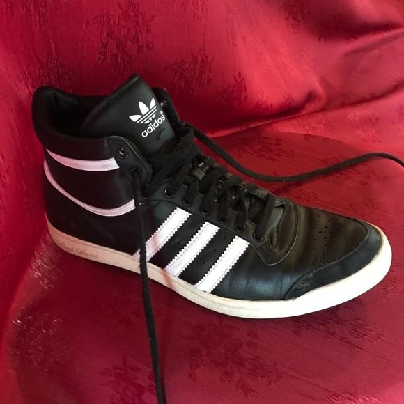 on sale dc5bb 106d1 adidas Shoes - Adidas Sleek Series High Tops