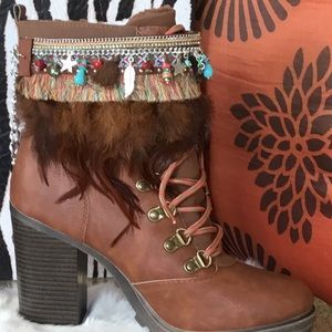 Accessories - Anklets Booties Sandal Cover up Wraps Boho Chic