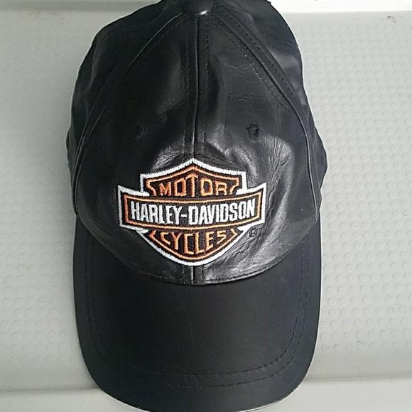 Harley-Davidson Other - Harley Davidson leather hat 1badee4ee01