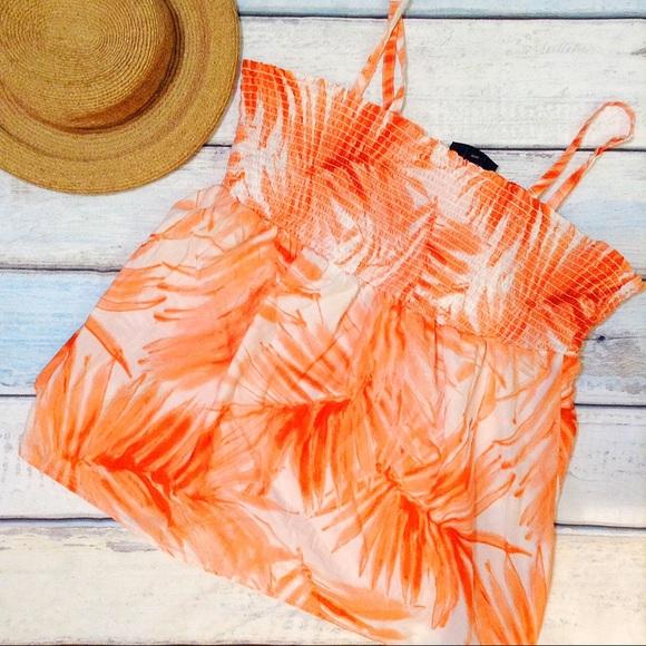 c1d1594a12e Lane Bryant Tops - LANE BRYANT Plus Size Palm Tie Dye Convertible Top