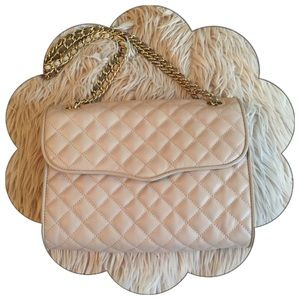 PRICE FIRM Rebecca Minkoff Quilted Affair Latte
