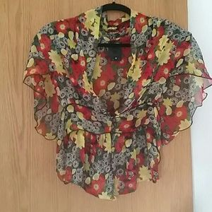 NWOT Anna Sui Blouse
