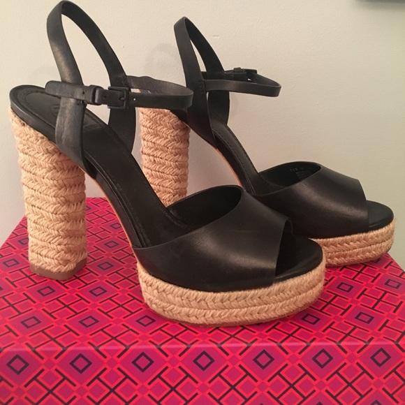 18c8257f7ae Tory Burch Solana Platform Espadrilles Sandals