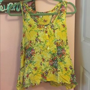 SUMMER FLORAL TANK TOP