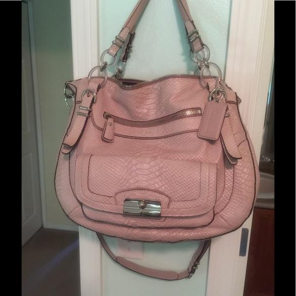 3141393521 Coach Handbags - COACH Kristin Laila and Matching Wallet